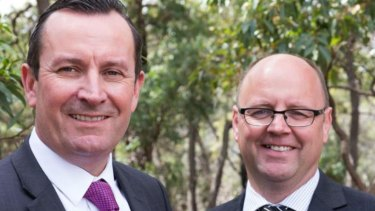Darling Range MP Barry Urban, right, has quit his seat in parliament after a damning privileges committee report.
