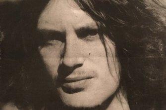 Martin Johnston, author photo on Shadowmass, 1971.