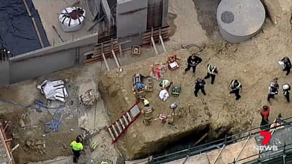 More than 60 cranes ordered to stop work after WorkSafe investigates Box Hill death