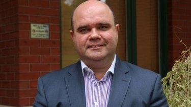 Australian Hotels Association boss Bradley Woods.
