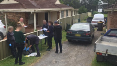 Arrests in Rutherford, NSW, as part of Operation Molto.