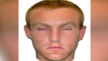 A composite image of what the man is believed to have looked like.