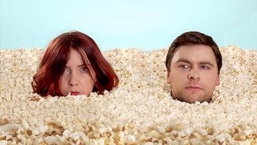 Fringe players Caitlyn Staples and Scott Limbrick.