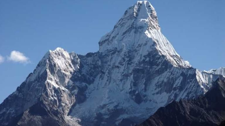 """In his final Facebook post, Michael Davis posted photos of Ama Dablam, with a comment """"The plan is to climb this""""."""