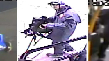 Police would like to speak to this man over attacks on a Melbourne bus.