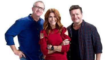 Brisbane's Triple M breakfast program with Marto, Robin and the Moonman has taken out the top spot in radio ratings.