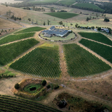 Levantine Hill, Yarra Valley, Victoria.