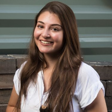 Bianca Ritter, who came top in Construction Examination in the 2017 HSC.