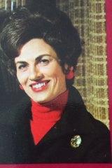 Geraldine Dillon, pioneer TV presenter of cookery programs.