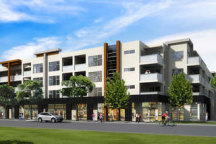 Construction of an affordable unit complex - similar to this block - will be built at Brisbane's North Quay. This image is representative only.