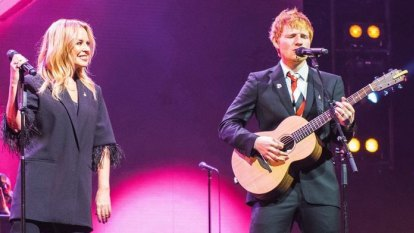 Ed Sheeran makes himself cry with new song written for Michael Gudinski