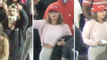 Victoria Police wish to speak to these people in relation to several incidents which occurred at Thursday night's protest.