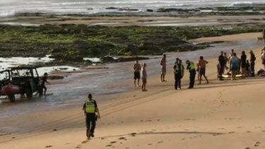 'They were holding hands and playing': Woman's horror at watching family drown