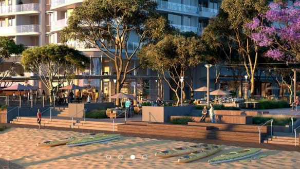 You see a sandpit, but East Perth river precinct is transforming