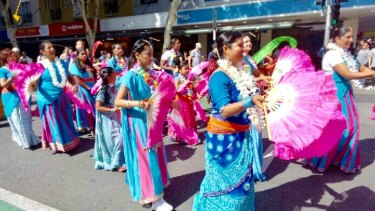 The colourful festival has been running in Brisbane for five years and this year was expected to be the biggest yet.