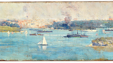 The State Library of NSW has made a major acquisition worth $425,000, adding its first painting by Australian impressionist Arthur Streeton to its collection.