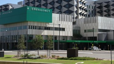 The Fiona Stanley Hospital emergency department.