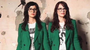 Stephanie Hunt and Megan Mullally are Nancy and Beth.