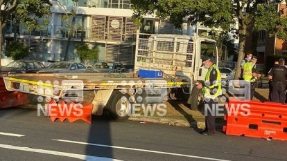 Driver fined $4000 after crashing truck through Qld-NSW border barricade