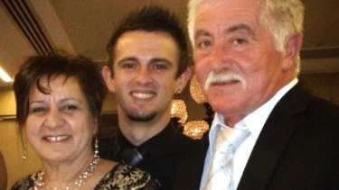 Leo and Donna Biancofiore with their son Mark.
