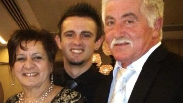 Leo and Dona Biancofiore with their son Mark.