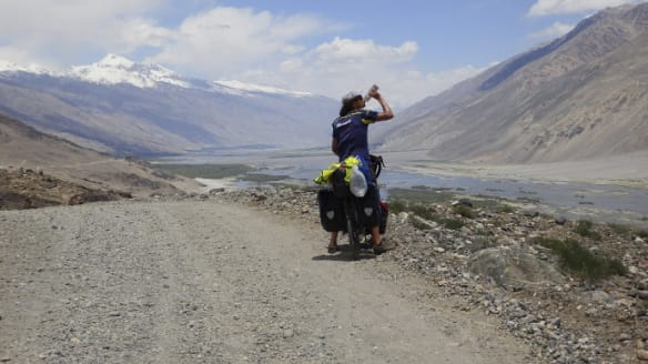 The Perth lad who cycled around the world to Sock it to Sarcoma