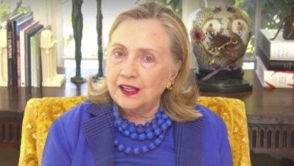 Trump created an anti-American 'cult' of followers says Hillary Clinton