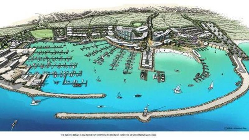 Ocean Reef Marina tested against 500-year storm