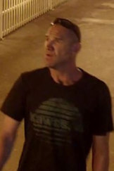 The man police want to speak to over the violent assault.