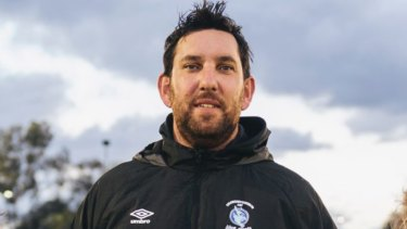 Belconnen United coach Antoni Jagarinec is leading the charge of nine teams that have made grand finals.