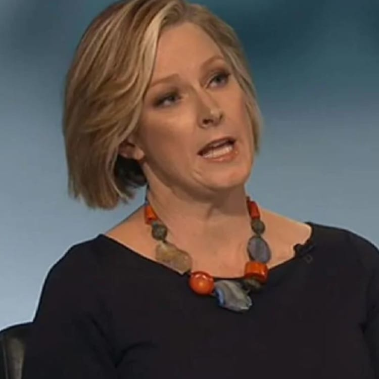 """As host of 7.30, Leigh Sales has become """"very skilful, very dangerous"""", says Mark Scott, the ABC's former managing director."""