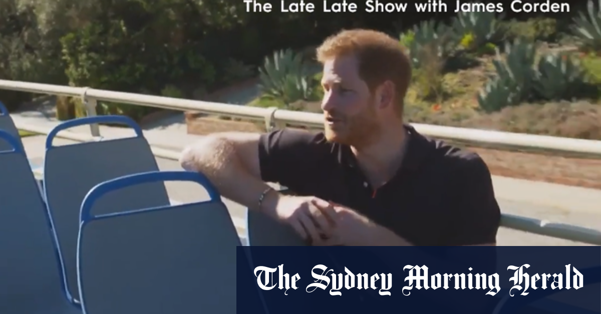 I left Britain to escape toxic press Prince Harry says – Sydney Morning Herald