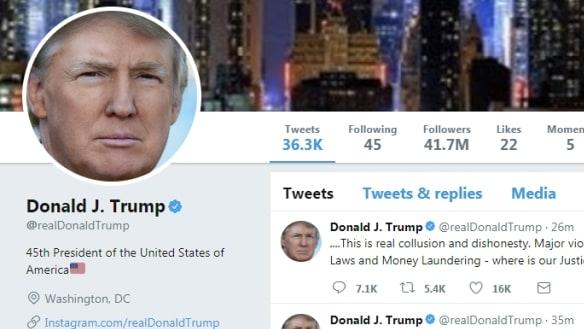 Trump blocking critics on Twitter violates Constitution, federal judge rules