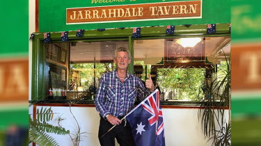Jarrahdale Tavern owner Kerry Page.