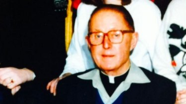Father Peter Searson, who died in 2009 without being convicted.