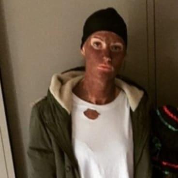 Australian Opals basketball team member Alice Kunek apologized after posting photo's of himself in blackface in 2016.