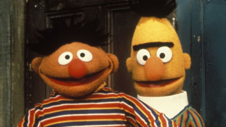 Ernie and Bert, lovers... or not?
