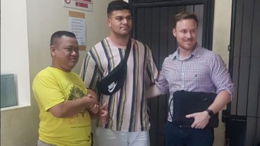 Fifita reached an agreement with alleged assault victim Dani Irawan after Broncos staffer Adam Walsh flew to Bali.