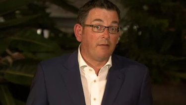 Premier Daniel Andrews gives an update on a hotel quarantine worker who has tested positive for COVID-19.