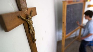 The number of students describing themselves as having no religion increased 68.2 per cent at Catholic schools.