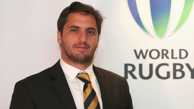 Agustin Pichot is World Rugby vice chairman.
