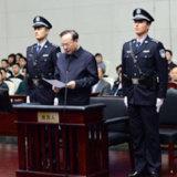 Sun Zhengcai. appears in court in Tianjin.