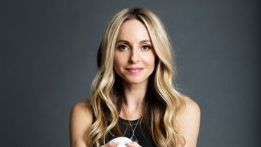"Gabrielle Bernstein, a ""spirit junkie"" who claims to be able to help people learn to attract the life they want."