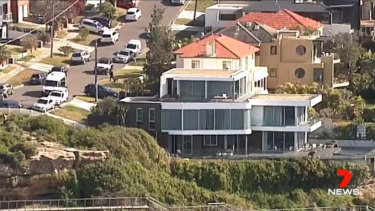 Ibrahim's clifftop home at Dover Heights was searched on Tuesday.