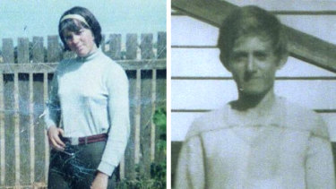 Maureen Braddy (left) and Allan Whyte, who both went missing in November 1968.