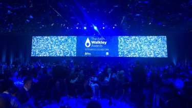 The 64th Walkley Awards atthe Ballroom of the ICC in Sydney.