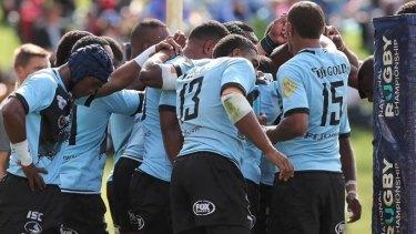 Champions: Fijian Drua have claimed the 2018 NRC.