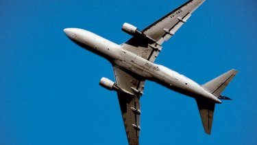 The flight continued to Perth, where Australian Federal Police officers spoke to the flight crew and passengers.