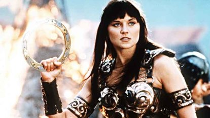 Lucy Lawless attended the death-bed of a Xena Warrior Princess fan