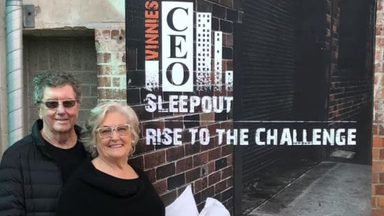 Brisbane business couple, Trevor and Judith St Baker from ERM Power, have made a $750,000 donation to St Vincent's de Paul homelessness strategy.